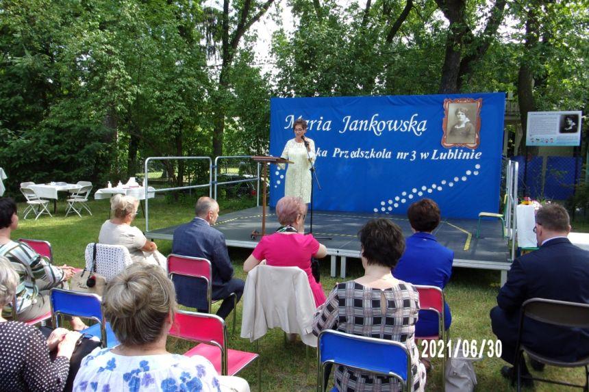 Powitane gości przez Panią Izabellę Majewską Dyrektora Przedszkola nr 3 w Lublinie