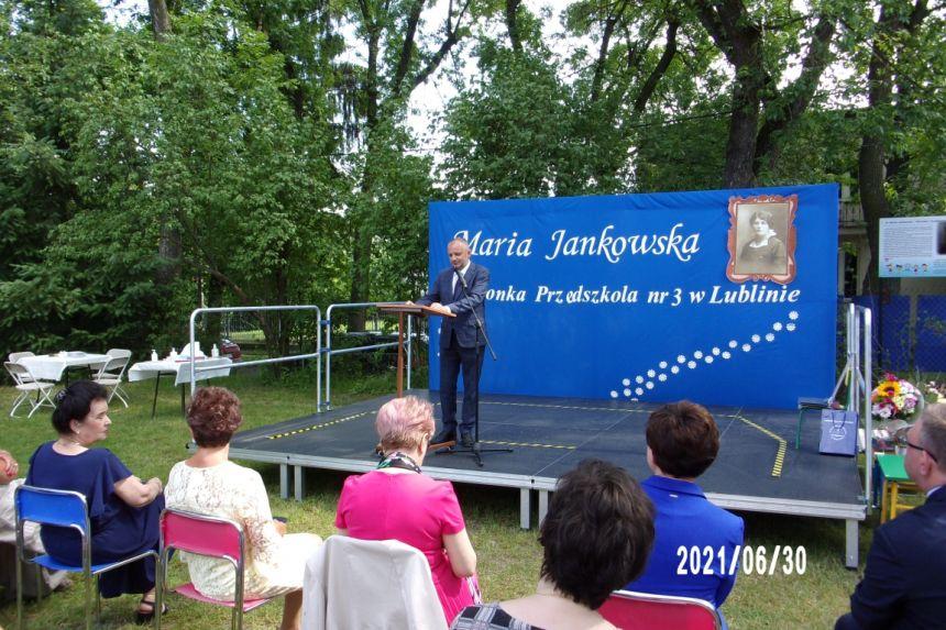 Odczytanie listu Prezydenta Miasta Lublin Pana Krzysztofa Żuka przez Zastępcę Prezydenta Pana Mariusza Banacha