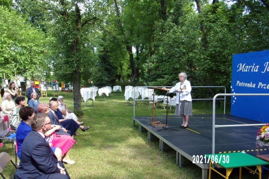 Wystąpienie Pani Krystyny Mrugalskiej, wnuczki Marii Jankowskiej